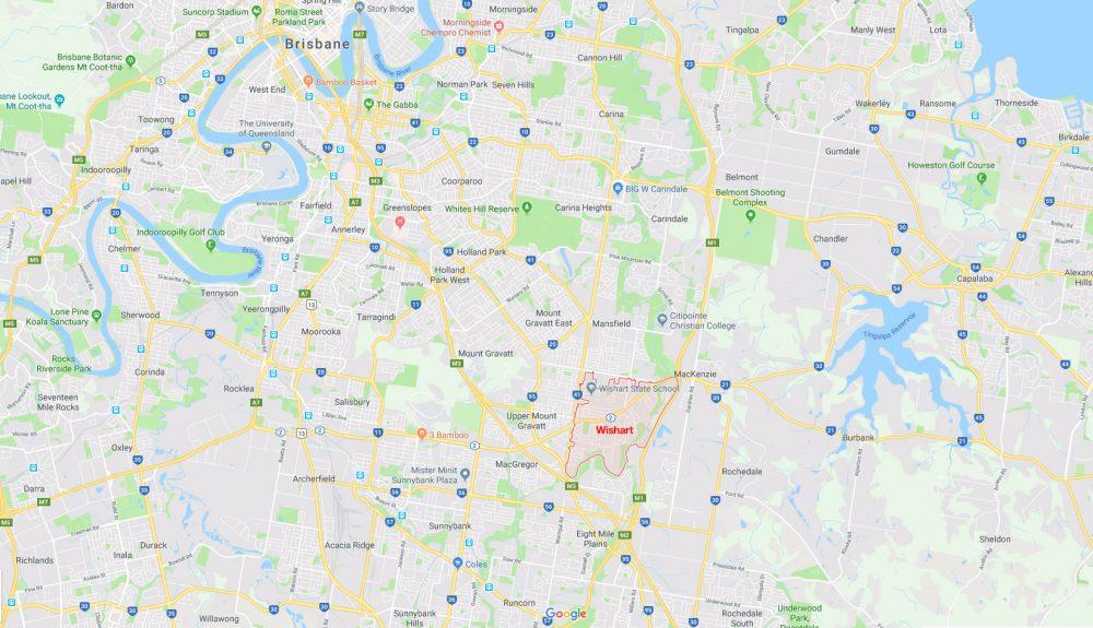 Wishart map