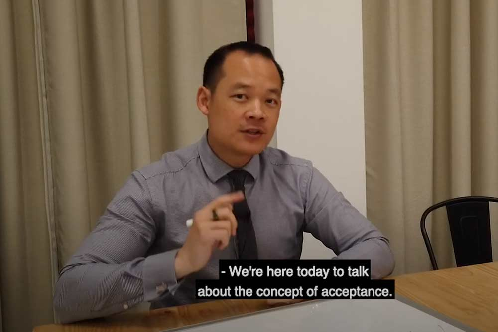 concept of acceptance