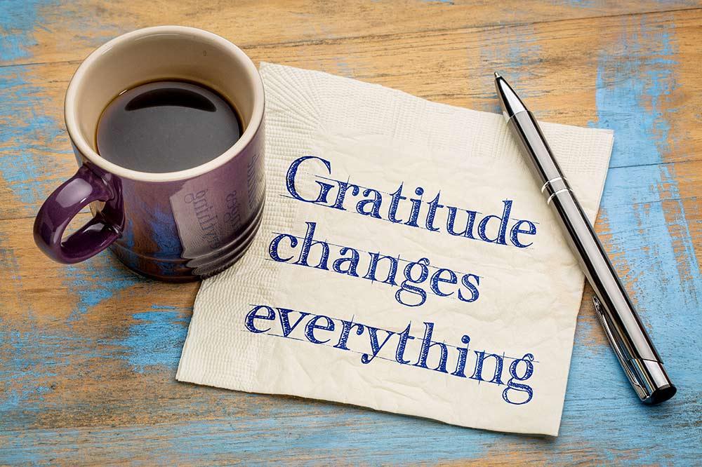 a time for gratitude